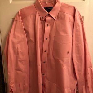 Light pink Ariat button down shirt